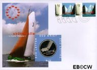 Nederland NL ECU023  1997 Skûtsjesile  cent  Postfris
