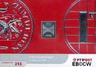 Nederland NL M251  2001 Zilveren verrassingszegel  cent  Postfris