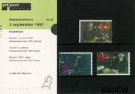 Nederland NL M87  1991 Nobelprijswinnaars  cent  Postfris