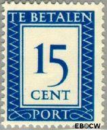 Nederland NL P91  1947 Portzegel 15 cent  Gestempeld