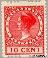 Nederland NL R10  1925 Type 'Veth' 10 cent  Gestempeld