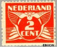 Nederland NL R19  1926 Type 'Lebeau' 2 cent  Gestempeld