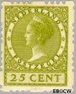 Nederland NL R51  1928 Type 'Veth' 25 cent  Gestempeld