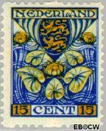 Nederland NL R77  1926 Wapens 15+3 cent  Gestempeld