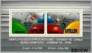 Nederlandse Antillen NA 1003  1992 Grenada 65 cent  Postfris
