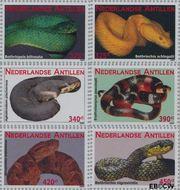 Nederlandse Antillen NA 1946#1951  2009 Slangen  cent  Postfris