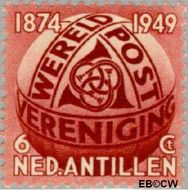 Nederlandse Antillen NA 209  1949 Wereldpostvereniging 6 cent  Gestempeld