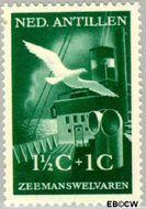 Nederlandse Antillen NA 239  1952 Zeemanswelvaren  1½+1 cent  Gestempeld