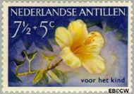 Nederlandse Antillen NA 249  1955 Bloemen 7½+5 cent  Gestempeld