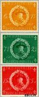 Nederlandse Antillen NA 258#260  1957 Padvinderij 25+8 cent  Postfris