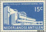 Nederlandse Antillen NA 269  1957 Opening hotel 15 cent  Gestempeld