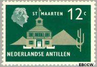 Nederlandse Antillen NA 279  1959 Landschappen 12 cent  Gestempeld