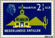 Nederlandse Antillen NA 289  1958 Landschappen 250 cent  Gestempeld