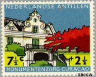 Nederlandse Antillen NA 299  1959 Monumentenzorg  7½+2½ cent  Gestempeld