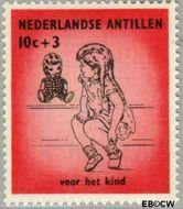 Nederlandse Antillen NA 319  1961 Kinderen 10+3 cent  Gestempeld