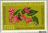 Nederlandse Antillen NA 350  1964 Bloemen 25+11 cent  Gestempeld