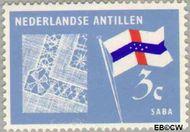 Nederlandse Antillen NA 360  1965 Eilanden 3 cent  Gestempeld