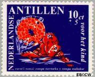 Nederlandse Antillen NA 390  1967 Nanzi-verhaal 6+3 cent  Gestempeld