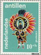 Nederlandse Antillen NA 410  1969 Folklore 10+5 cent  Gestempeld