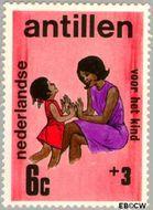 Nederlandse Antillen NA 430  1970 Activiteiten kinderen 6+3 cent  Gestempeld