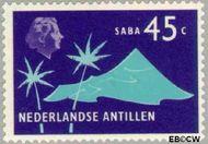 Nederlandse Antillen NA 460  1973 Landschappen 45 cent  Gestempeld