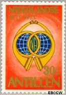 Nederlandse Antillen NA 474  1973 Postzegeljubileum 25+12 cent  Postfris