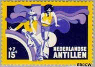 Nederlandse Antillen NA 490  1974 Activiteiten jeugd 15+7 cent  Gestempeld
