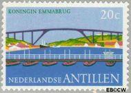 Nederlandse Antillen NA 500  1975 Bruggen 20 cent  Gestempeld