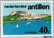 Nederlandse Antillen NA 520  1976 Toerisme 40 cent  Gestempeld