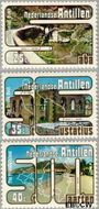 Nederlandse Antillen NA 556#558  1977 Toerisme  cent  Gestempeld