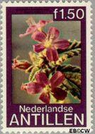 Nederlandse Antillen NA 635  1979 Bloemen 150 cent  Gestempeld