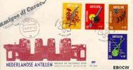 Nederlandse Antillen NA E61  1970 Media  cent  FDC zonder adres
