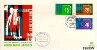 Nederlandse Antillen NA E81  1973 Hulp en zorg 25+12 cent  FDC zonder adres