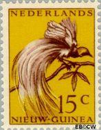 Nieuw-Guinea NG 28  1954 Paradijsvogel 15 cent  Gestempeld