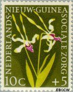 Nieuw-Guinea NG 58  1959 Sociale zorg 10+5 cent  Gestempeld