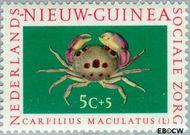 Nieuw-Guinea NG 78  1962 Sociale zorg 5+5 cent  Gestempeld