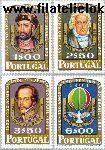 POR 1181#1184 Postfris 1972 Onafhankelijkheid Brazilië