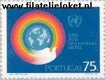 POR 1679# Postfris 1986 Int. Jaar van de Vrede