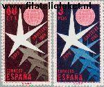 SPA 1117#1118 Postfris 1958 Wereldtentoonstelling Brussel