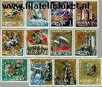 SPA 1248#1259 Postfris 1961 Burgeroorlog