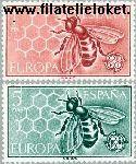 SPA 1340#1341 Postfris 1962 C.E.P.T.- Europa