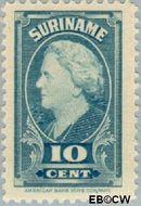 Suriname SU 229  1945 Koningin Wilhelmina 10 cent  Gestempeld