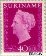 Suriname SU 270  1948 Koningin Wilhelmina 40 cent  Gestempeld