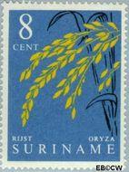 Suriname SU 360  1961 Inheemse vruchten 8 cent  Gestempeld