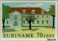 Suriname SU 370  1961 Historische gebouwen 70 cent  Gestempeld