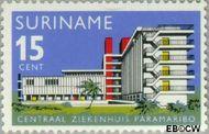 Suriname SU 448  1966 Ingebruikneming Centraal Ziekenhuis 15 cent  Gestempeld
