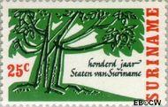 Suriname SU 458  1966 Staten van Suriname 25 cent  Gestempeld