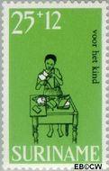Suriname SU 508  1968 Kinderspelen 25+12 cent  Gestempeld