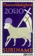 Suriname SU 558  1971 Paassymbolen 20+10 cent  Gestempeld