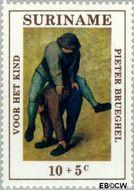 Suriname SU 568  1971 Kinderspelen 10+5 cent  Gestempeld